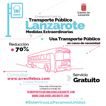 TRANSPORTE PÚBLICO CABILDO DE LANZAROTE
