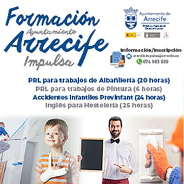 ARRECIFE FORMACIÓN